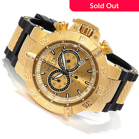 602-121 - Invicta Men's Subaqua Noma III Swiss Quartz Chronograph Rubber Strap Watch
