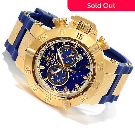 602-122 - Invicta Men's Subaqua Noma III Swiss Made Quartz Chronograph Polyurethane Strap Watch