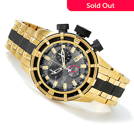 602-149 - Invicta Reserve Men's Bolt Swiss Chronograph Tachymeter Bracelet Watch