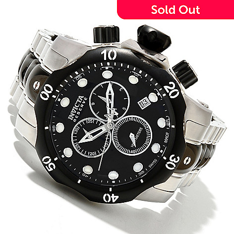 602-163 - Invicta Reserve Men's Subaqua Venom Swiss Quartz Chronograph Bracelet Watch
