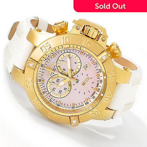 602-608 - Invicta Women's Subaqua Noma III Swiss Quartz Chronograph Strap Watch