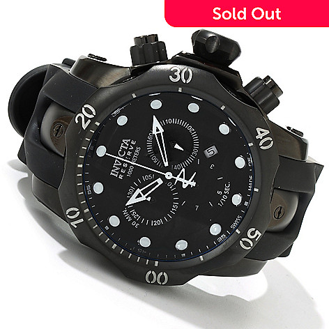 602-727 - Invicta Reserve Men's Subaqua Venom Swiss Quartz Chronograph Strap Watch