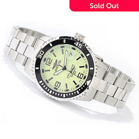 602-736 - Invicta Men's Pro Diver Automatic 21-Jewel Tritnite Luminous Dial Watch