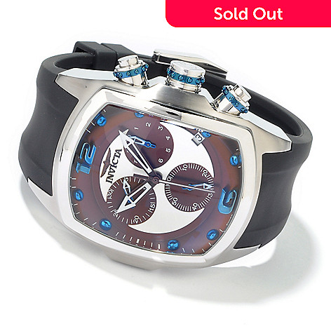 602-889 - Invicta Men's Lupah Revolution Swiss Quartz Rubber Strap Watch
