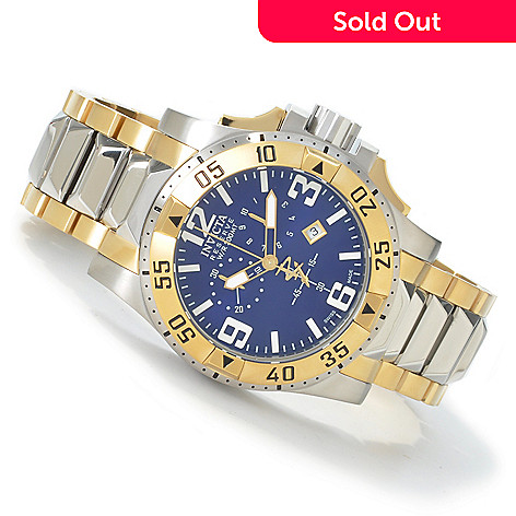 603-013 - Invicta Reserve Men's Excursion Swiss Quartz Two-tone Watch