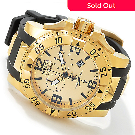 603-031 - Invicta Men's Reserve Excursion Swiss Chronograph Strap Watch