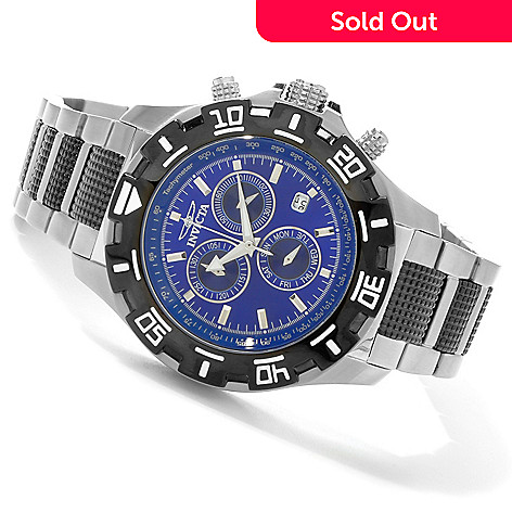 603-038 - Invicta Men's Racing Sport Python Quartz Chronograph Bracelet Watch