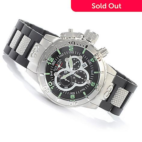 603-271 - Invicta 52mm Corduba Ibiza Quartz Chronograph Stainless Steel Bracelet Watch