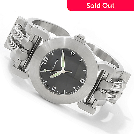 603-328 - Android Women's Hydraumatic 4 Quartz Stainless Steel Bracelet Watch