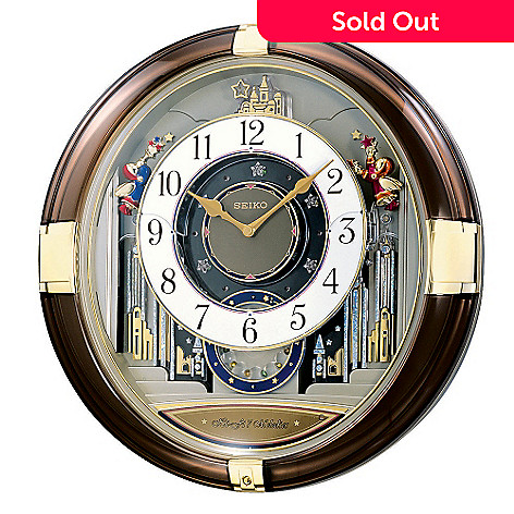 603-387 - Seiko's Melodies in Motion Magical Castle Wall Clock