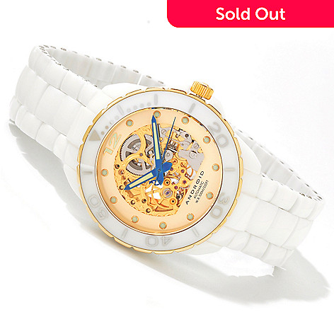 603-465 - Android Divemaster Exotic Skeleton Automatic Ceramic Watch