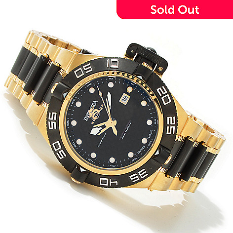 603-566 - Invicta Men's Subaqua Noma IV Limited Automatic Gold-tone & Black Watch