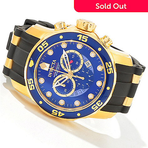 603-737 - Invicta Men's Scuba Pro Diver Swiss Chronograph Strap Watch