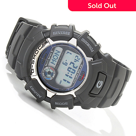 603-935 - Casio Men's G Shock Digital Solar Powered Multi Function Strap Watch
