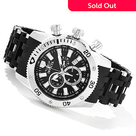 604-138 - Invicta Men's Sea Spider Quartz Chronograph Bracelet Watch