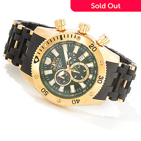604-139 - Invicta Men's Sea Spider Quartz Chronograph Bracelet Watch