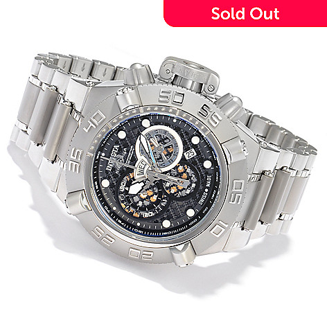 604-357 - Invicta Men's Subaqua Noma IV Swiss Quartz Chronograph & Tachymeter Stainless Steel Bracelet Watch