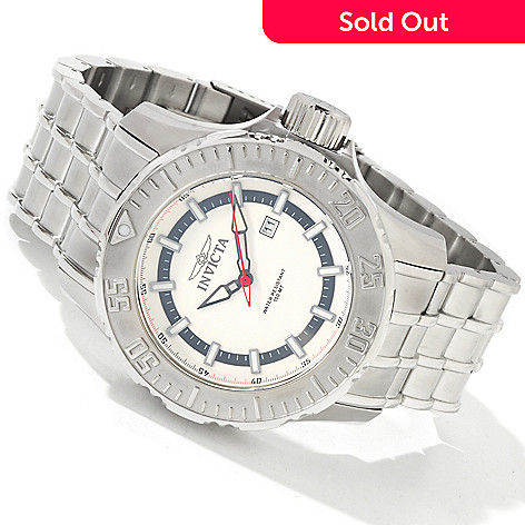 604-532 - Invicta Men's Pro Diver Sea Quest Quartz Date Window Stainless Steel Bracelet Watch