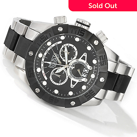 604-547 - Invicta Reserve Men's Nekton II Swiss Quartz Chronograph Big Date Stainless Steel Bracelet Watch