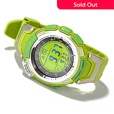 604-656 - Casio Pathfinder Go-Green Special Edition Multi-Function Strap Watch