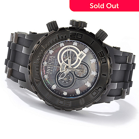 604-746 - Invicta Reserve Men's Specialty Subaqua Swiss Made Quartz Chronograph Polyurethane Strap Watch