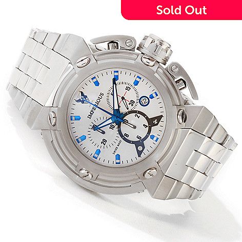 604-876 - Imperious Men's X-Wing Swiss Chronograph Stainless Case Bracelet Watch