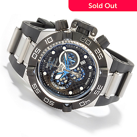 604-924 - Invicta Men's Subaqua Noma IV Swiss Quartz Chronograph Strap Watch