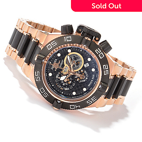 604-976 - Invicta Men's Subaqua Noma IV Swiss Quartz Chronograph Tachymeter Stainless Steel Bracelet Watch