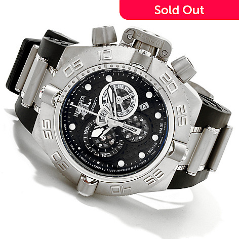 604-977 - Invicta Men's Subaqua Noma IV Swiss Quartz Chronograph Strap Watch
