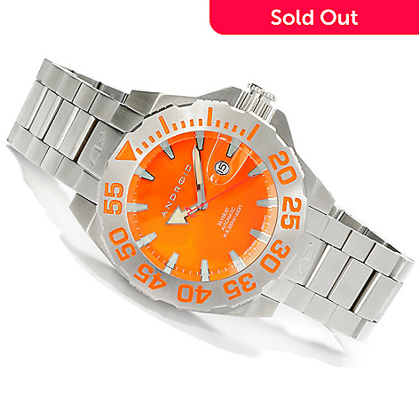 605-034 - Android Men's Divemaster Silverjet 500 Automatic Bracelet Watch