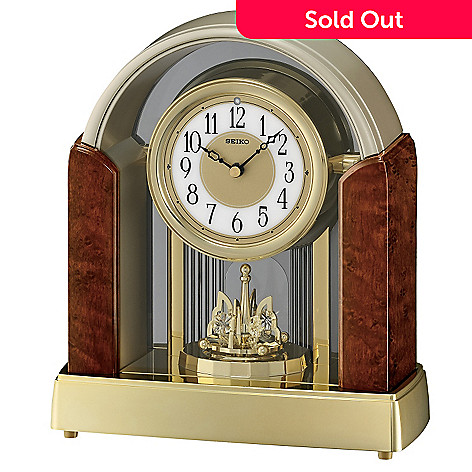 605-047 - Seiko Melodies in Motion Rotating Pendulum Mantel Clock