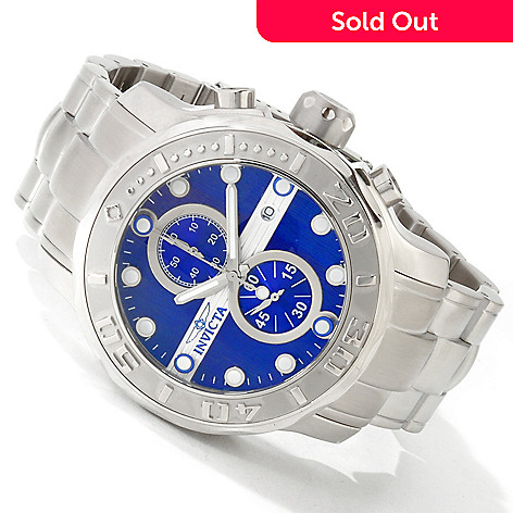 605-066 - Invicta Men's Ocean Ghost Quartz Chronograph Bracelet Watch