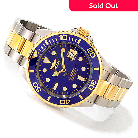 605-070 - Invicta 47mm Grand Diver Automatic Stainless Case Bracelet Watch