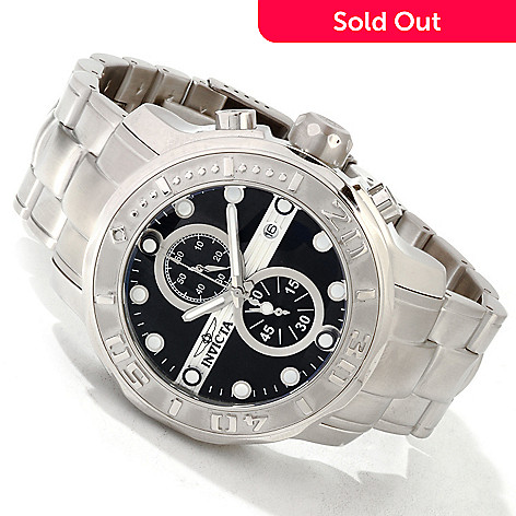 605-071 - Invicta Men's Ocean Ghost Quartz Chronograph Bracelet Watch