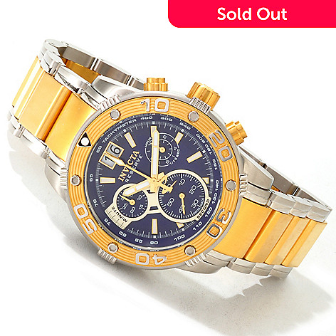 605-073 - Invicta Reserve Men's Ocean Speedway Swiss Made Quartz Chronograph Tachymeter Stainless Steel Watch