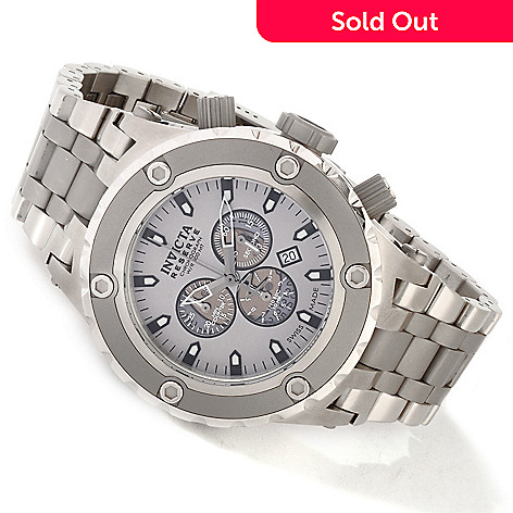605-075 - Invicta Reserve Men's Specialty Subaqua Swiss Quartz Chronograph Stainless Steel Bracelet Watch