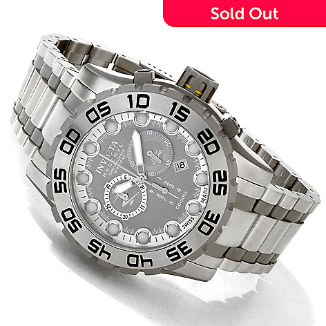 605-076 - Invicta Reserve Men's Leviathan Evolution Swiss Chronograph Bracelet Watch