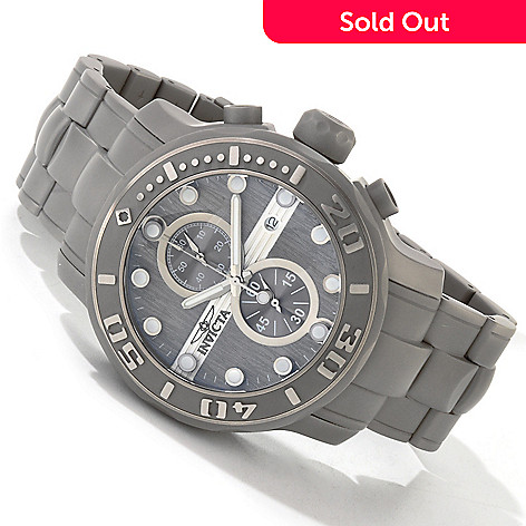 605-114 - Invicta Men's Ocean Ghost Quartz Chronograph Bracelet Watch