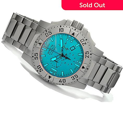 605-133 - Invicta Reserve Men's Excursion Swiss Quartz Chronograph Bracelet Watch