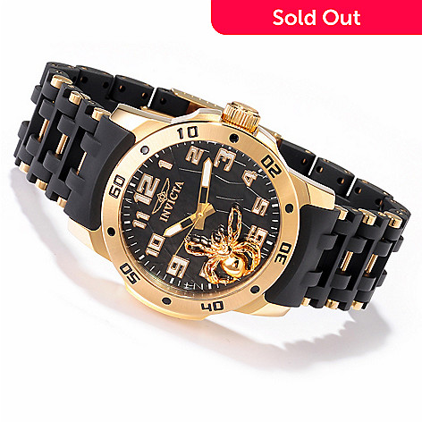 605-172 - Invicta Men's Sea Spider Quartz Movement Stainless Case Bracelet Watch