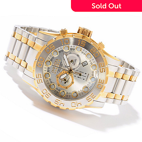 605-193 - Invicta Reserve Men's Leviathan Evolution Swiss Made Quartz Chronograph Stainless Steel Watch