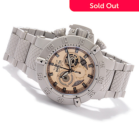 605-195 - Invicta Men's Subaqua Noma III Swiss Quartz Chronograph Bracelet Watch