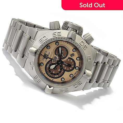 605-213 - Invicta Men's Subaqua Noma IV Swiss Quartz Chronograph Bracelet Watch