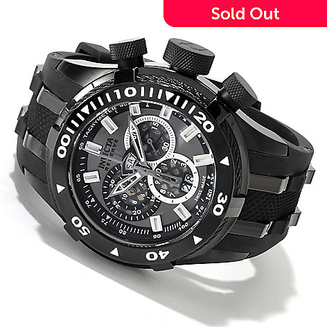 605-353 - Invicta Reserve Men's Bolt Swiss Quartz Chronograph Strap Watch