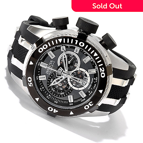605-354 - Invicta Reserve Men's Bolt Swiss Quartz Chronograph Strap Watch