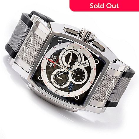 605-382 - Invicta Men's S1 Touring Sport Quartz Chronograph Polyurethane & Nylon Strap Watch