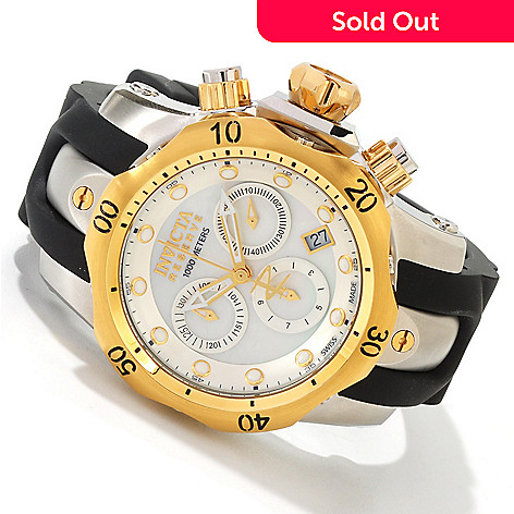 605-390 - Invicta Reserve Women's Venom Swiss Quartz Chronograph Strap Watch