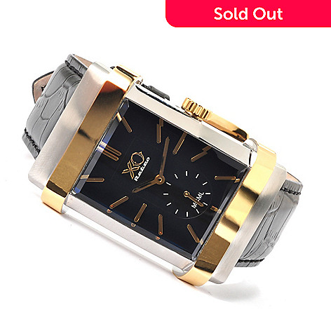 605-459 - XO Retro Men's Black Tie Quartz Limited Edition 1953 Automotive DNA Strap Watch