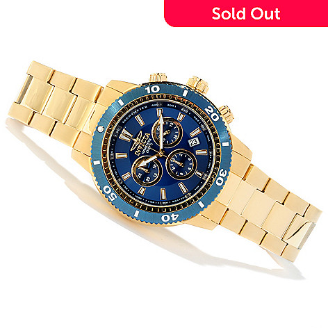 605-488 - Invicta Men's Sport Quartz Chronograph Tachymeter Stainless Steel Bracelet Watch