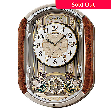 605-500 - Seiko Melodies In Motion Limited Edition Lovely Garden Wall Clock